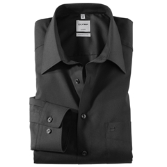 Olymp Comfort Fit Shirt - Black
