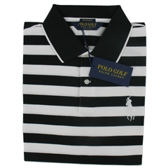 Ralph Lauren Pro-Fit Performance Polo - White Black - Size:  M Only
