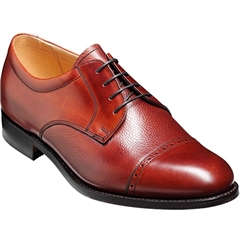 Barker Shoes Style: Staines - Rosewood Calf/Grain