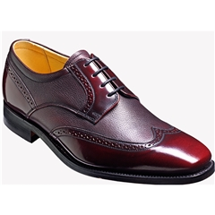 Barker Shoes Style: Andrew - Burgundy Cervo / Hi-Shine