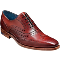 Barker Shoe Style: McClean - Rosewood Calf
