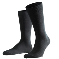 Falke Cotton Short Sock - Black