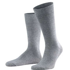 Falke Cotton Short Sock - Light Grey Melange