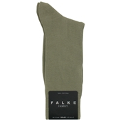 Falke Cotton Short Sock - Pale Khaki