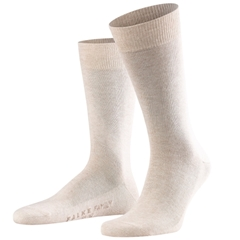 Falke Cotton Short Sock - Sand Melange