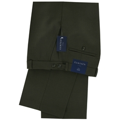 Autumn 2017 Gurteen Cambridge 'High Rise' Trousers - Green