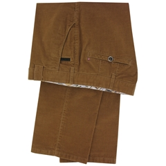 Meyer Trousers Tan Corduroy - 36Long Only