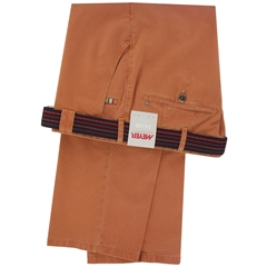 New 2016 Meyer Trouser - Terracotta Soft Twill Cotton Fade Out - Limited Edition