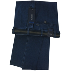 Bruhl Blue Light Weight Denim Trouser - Montana