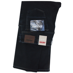 Meyer Denim Jean - Dark Blue with Stitching Detail - Arizona 4156 19