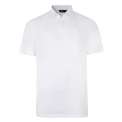 Gabicci Half Sleeved Jersey Shirt - White