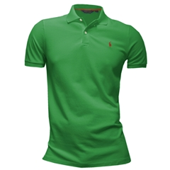 New for 2016 Ralph Lauren Cotton Polo - Preppy Green