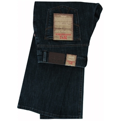 Brax Denim Jean - Authentic Ring Denim -  Dark Blue Denim