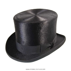 Black Melusine Top Hat