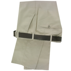 Meyer Trousers Beige Luxury Cotton - Online Exclusive - Special Purchase