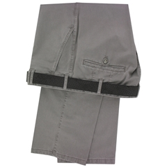 Meyer Trousers Taupe Luxury Cotton & Silk - Online Exclusive - Special Purchase