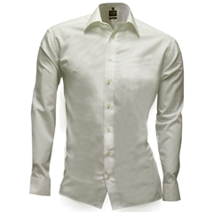 Olymp Level Five Body Fit Shirt - Beige