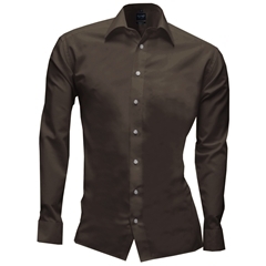 Olymp Level Five Body Fit Shirt - Nougat - 6090 64 27