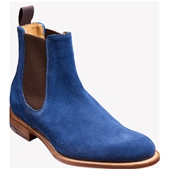 New Autumn 2016 Barker Shoes Style: Fletton - Navy Suede
