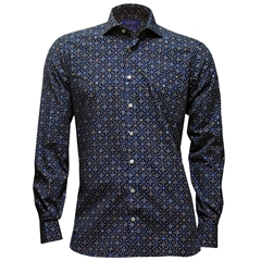 New Autumn 2016 Giordano Shirt - Abstract Circle Print
