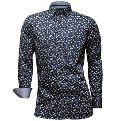 New Autumn 2016 Giordano Shirt - Abstract Petal Print