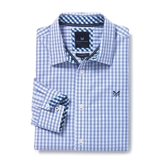New Autumn 2016 Crew Classic Fit Gingham Shirt - Periwinkle