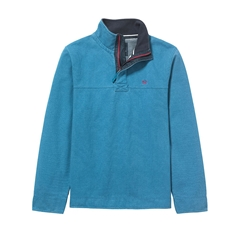 New Autumn 2016 Crew Padstow Pique Sweater - Deepwater