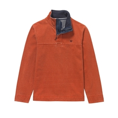 New Autumn 2016 Crew Padstow Pique Sweater - Saffron