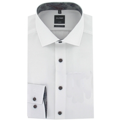 Olymp Modern Fit Shirt - White - Size 3XL Only