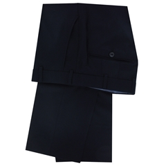 New Meyer Trouser Premium Exclusive Italian Wool & Cashmere - Navy