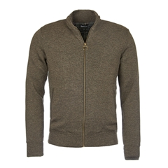 Barbour Lifestyle Ardeley Zip Through - Rustic Marl - Size M Only