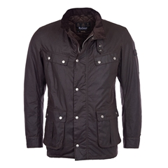 Autumn 2017 Barbour International Duke Wax Jacket - Rustic
