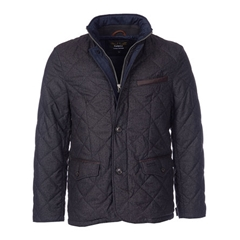 New Autumn 2016 Barbour Land Rover Filey Quilted Jacket - Dark Charcoal