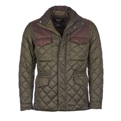 New Autumn 2016 Barbour Land Rover Esmissary Quilted Jacket - Sage