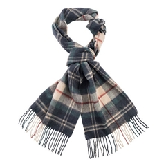 Barbour Land Rover Lambswool Scarf - Tartan