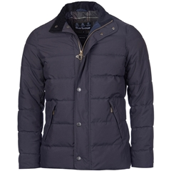 New Autumn 2016 Barbour Lifestyle Lybster Quilt Jacket - Navy