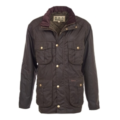 New Autumn 2016 Barbour Countrywear Utility Wax Jacket - Rustic