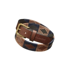 Pampeano Leather Polo Belt - Jefe