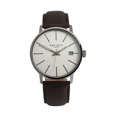 White Face Baton Indices Watch