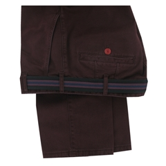 Meyer Wine Luxury Cotton Trousers - Special Selection Range - Online Exclusive