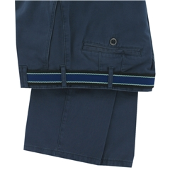 Meyer Blue Luxury Cotton Trousers - Special Selection Range - Online Exclusive