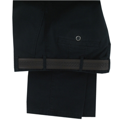 Meyer Navy Blue Luxury Cotton Trousers - Special Selection Range - Online Exclusive