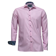 New Autumn 2016 Giordano Shirt - Pink with trim details