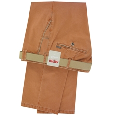 New 2017 Meyer Trousers Luxury Cotton - Clementine - Online Exclusive