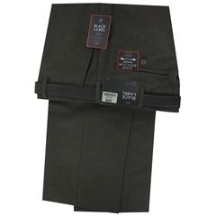 Oakman Formal Trouser - Walnut
