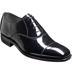 Barker Shoes Style: Dermot - Black Hi- Shine