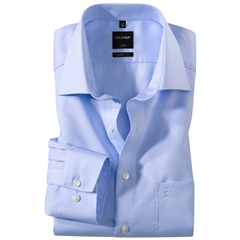 Olymp Modern Fit Shirt - Light Blue Naté