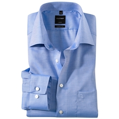 Olymp Modern Fit Shirt - Blue Naté