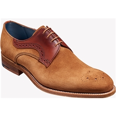 Barker Shoes Style: Cohen - Terra Suede / Rosewood Calf