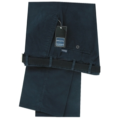 Bruhl Light Cotton Trouser - Montana - Blue - 180009-670
